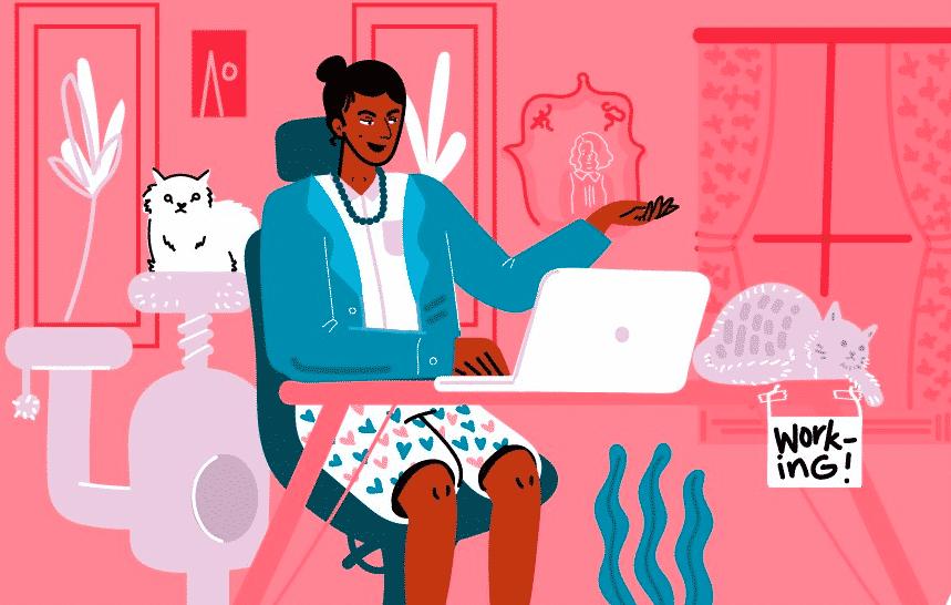 Bí quyết làm việc ở nhà