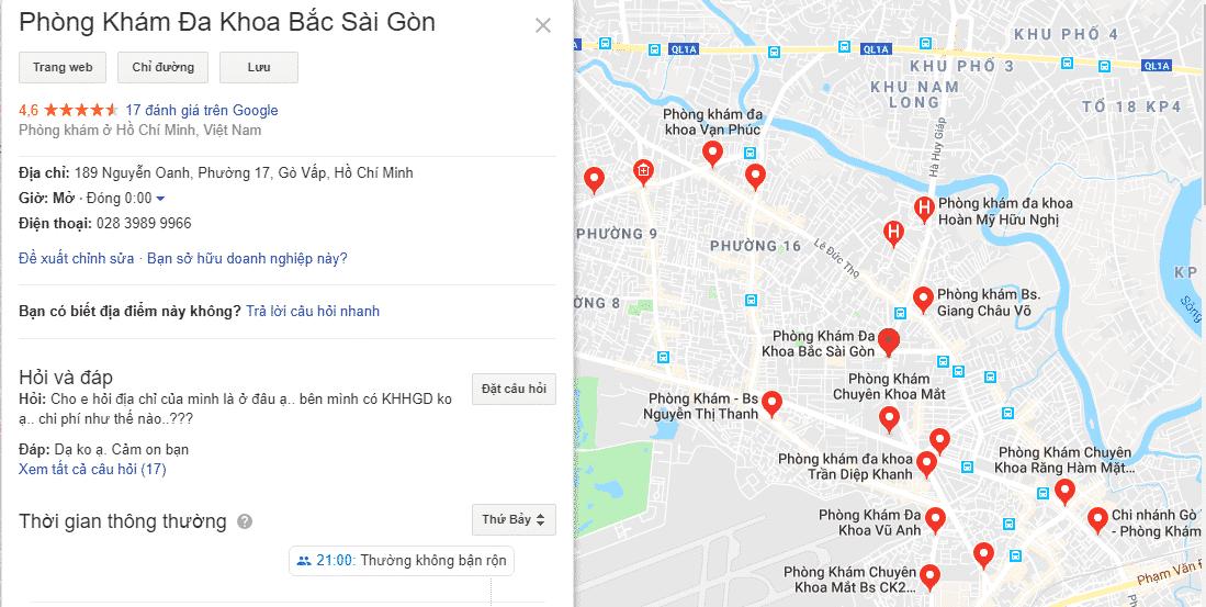 Ưu điểm của Local SEO, Google Maps