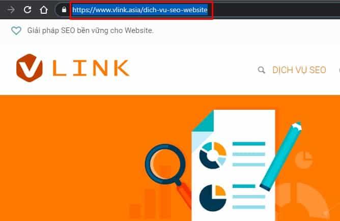 URL phải tối ưu chuẩn SEO