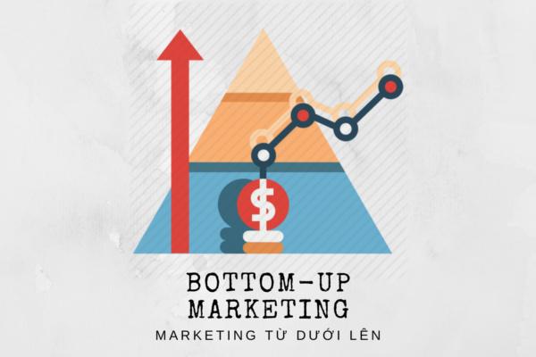Marketing từ dưới lên tiếng Anh là Bottom-up Marketing.