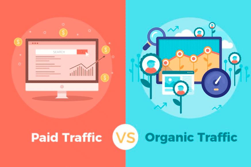 Organic traffic giúp gia tăng nhận diện thương hiệu