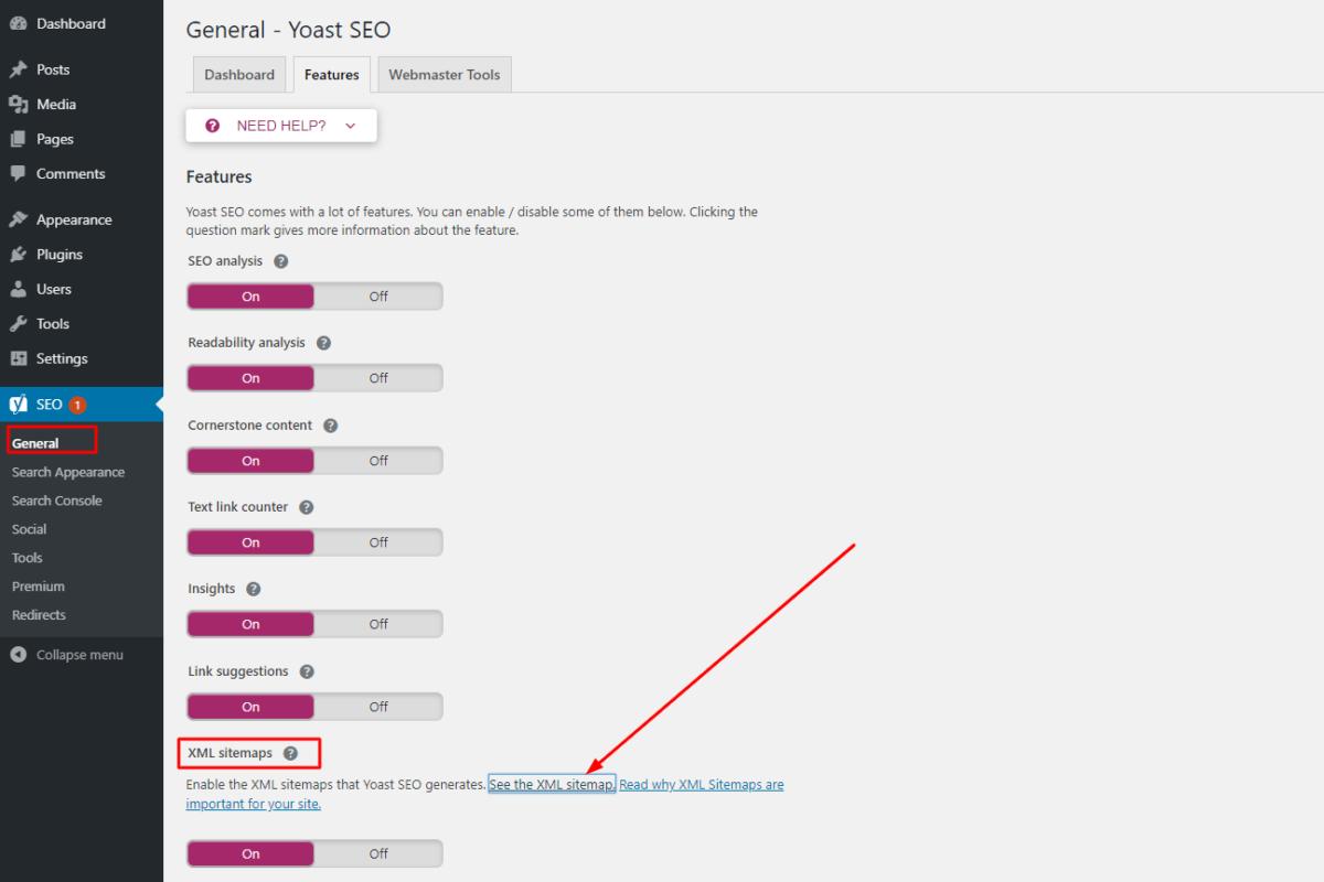 Cách lấy sơ đồ trang web xml (sitemap.xml) trong WordPress