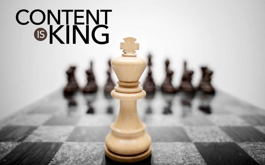 Content là yếu tố căn bản trong quá trình làm SEO