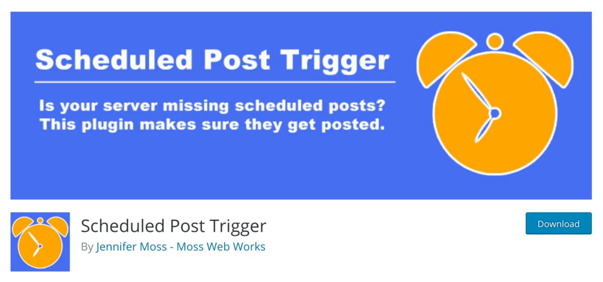 Sử dụng Plugin Scheduled Post Trigger để lên lịch đăng bài cho website của mình
