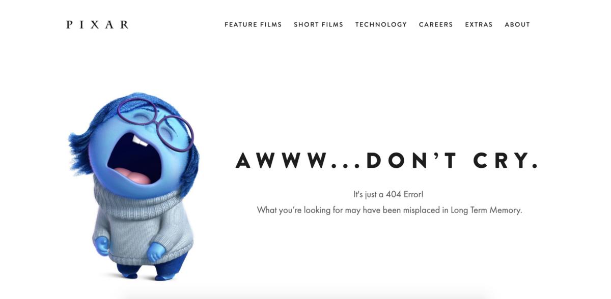 Sai lầm khi bạn không thiết kế một trang website 404 cực vui nhộn và thú vị