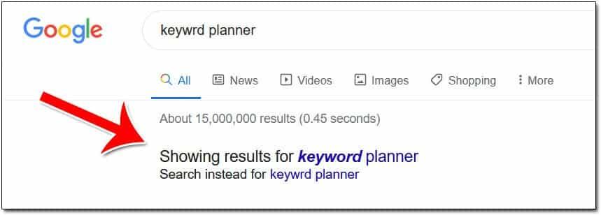 Google sẽ chọn từ khóa phù hợp với mục đích của người dùng