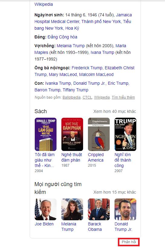 Cách thay đổi và cập nhật thông tin tren bảng tri thức của Google