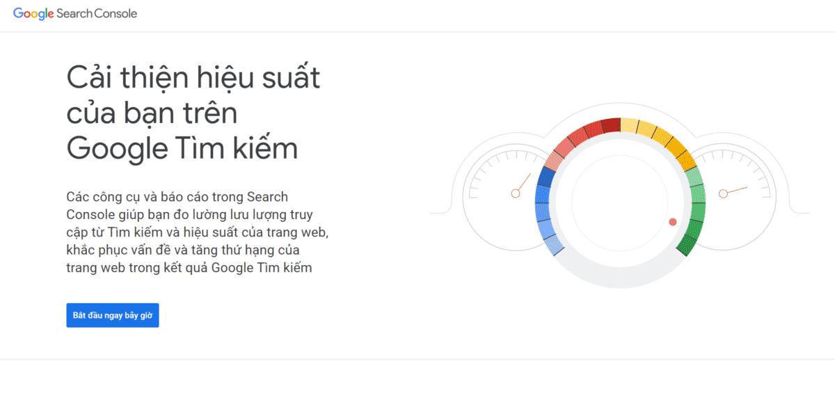 Công cụ hỗ trợ Website kỹ thuật Google Search Console