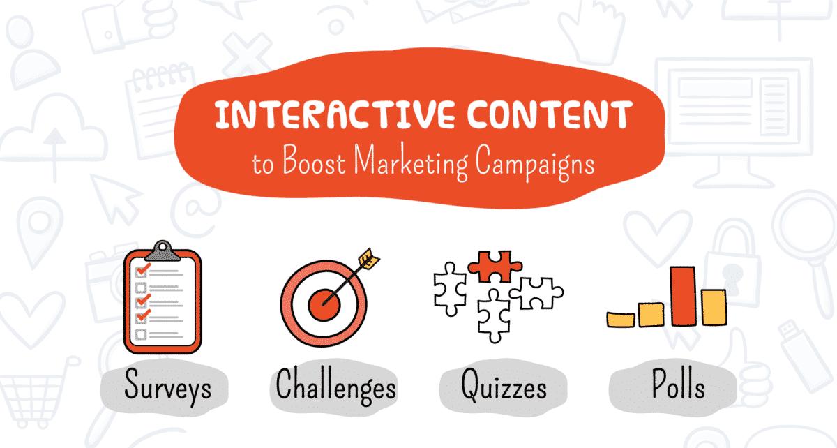 Sáng tạo các Content tương tác trong tất cả các chiến lược Digital Marketing