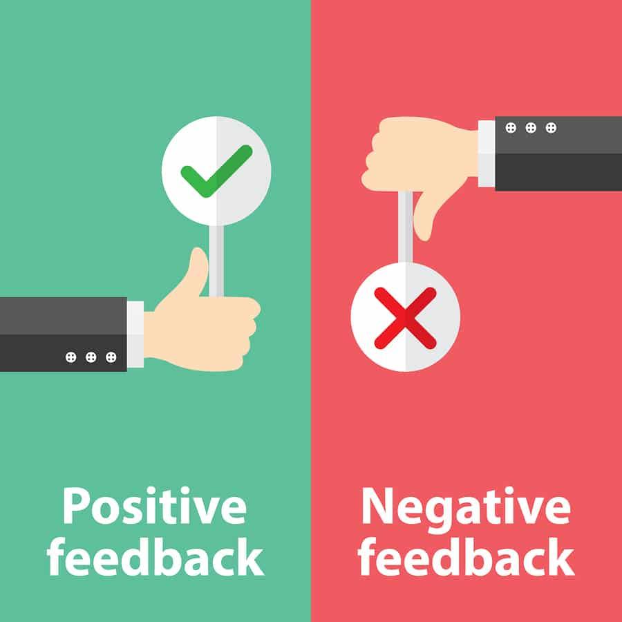Tích cực trả lời các đánh giá tiêu cực và tích cực