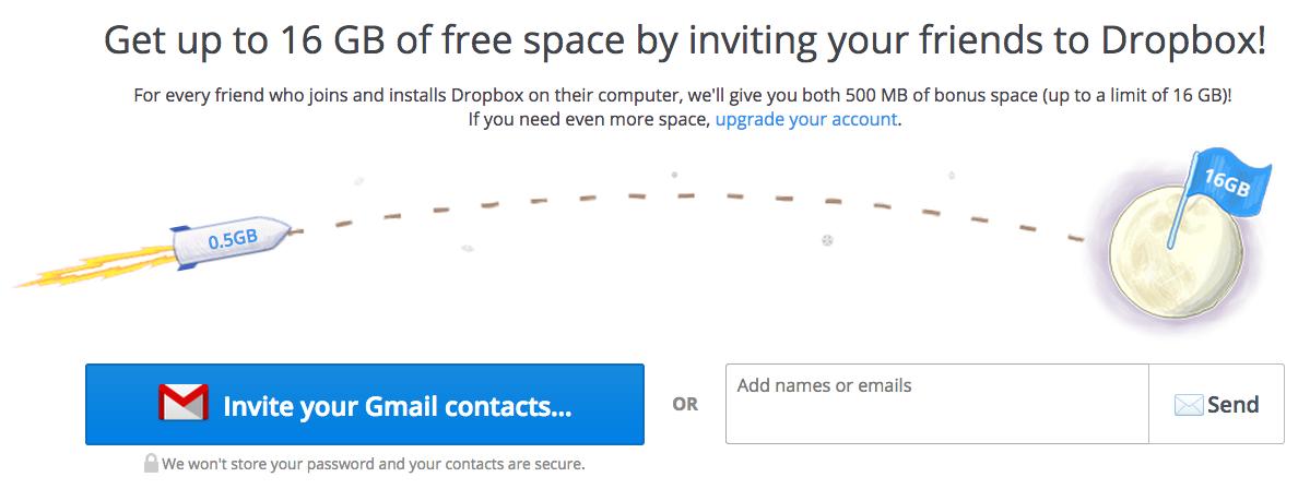 Growth Hacking của Dropbox