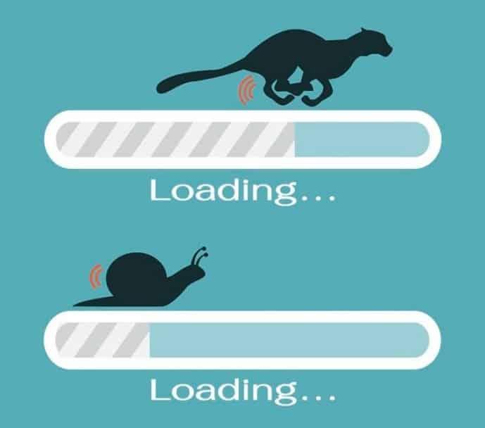 Tốc độ trang web ảnh hưởng rất lớn đển tỷ lệ Bounce rate