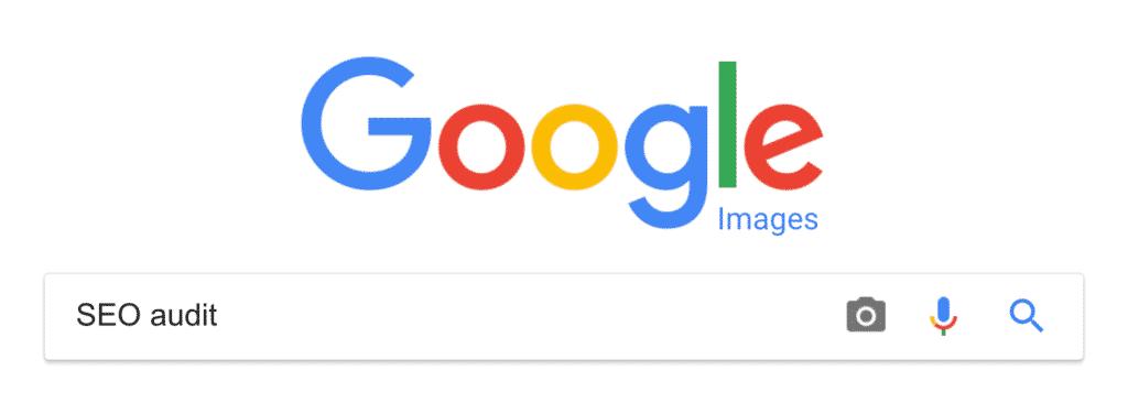 Nhập từ khóa vào Google Images