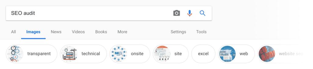 Google Images - Điều khoản liên quan