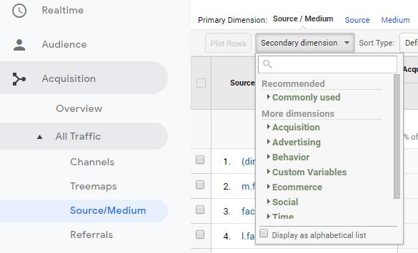 Cách xem dữ liệu UTM