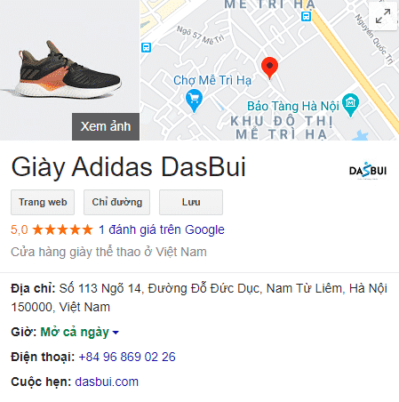SEO local, dịch vụ xác minh google map