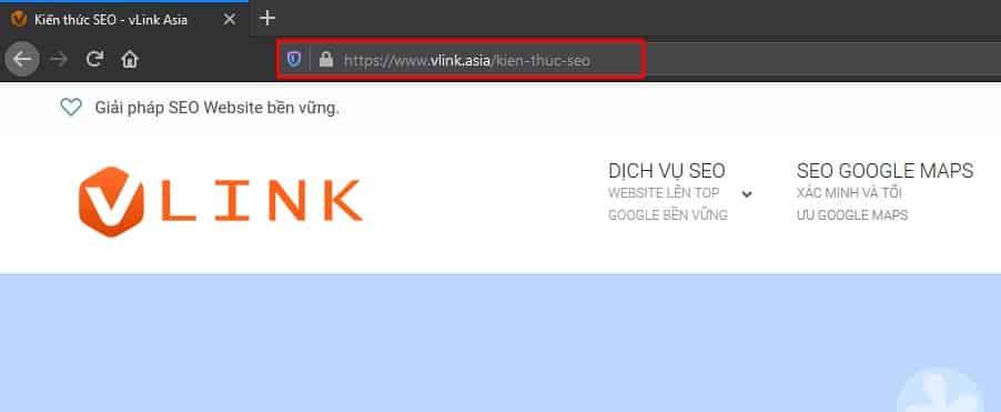 Danh sách kiểm tra SEO - URL