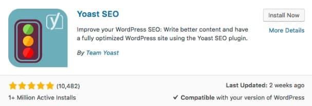 Cài đặt Yoasst SEO Plugin SEO Website WordPress